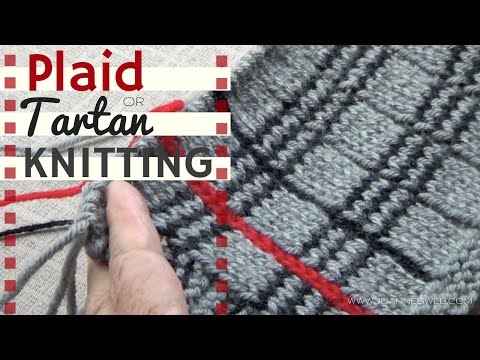 Tartan or Plaid Knitting