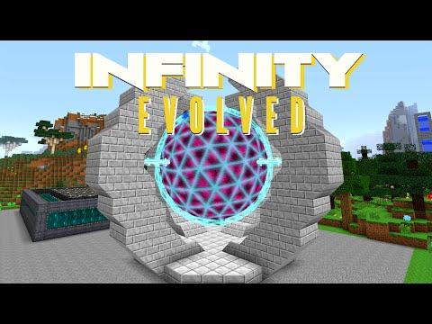 Minecraft Mods FTB Infinity Evolved - DRACONIC ENERGY CORE [E61] (Modded Expert Mode)