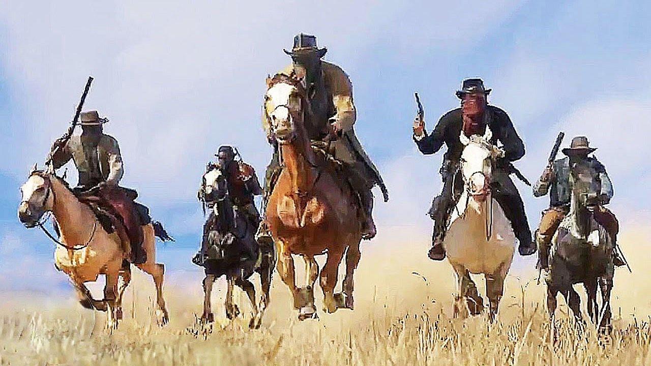 Red Dead Redemption 2 Trailer 4k 60fps