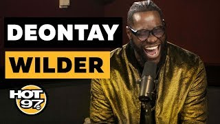 Deontay Wilder Calls Anthony Joshua A 'Coward', Talks Tyson Fury, & Shares Secrets In The Ring