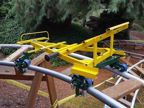 Secrets of Backyard Roller Coaster Design, and a yard tour of three BYRCs