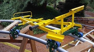 Secrets of Backyard Roller Coaster Design, and a yard tour of three BYRCs