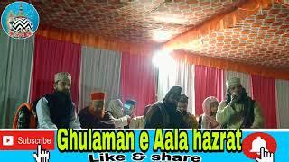Naat Sharif dhal ke Mustafa ke ishq me by Molana sharif Raza sahab