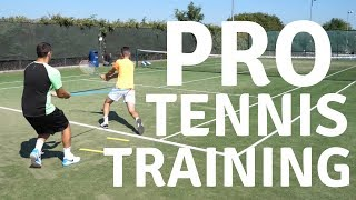 Professional Tennis Training Drills with Top Tennis Training