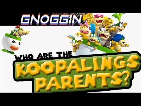 Mario Theory: The Koopaling's Parents   Gnoggin