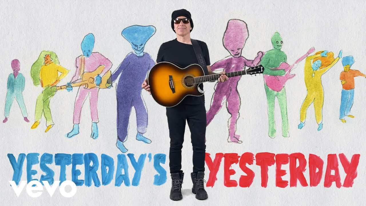 Joe Satriani - Yesterday's Yesterday (Official Music Video) MyTub.uz