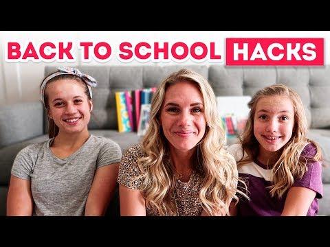 Best Back to School HACKS