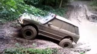 4 2l v8 bobtail range rover big muddy bomb hole 4x4 Off Road Extreme
