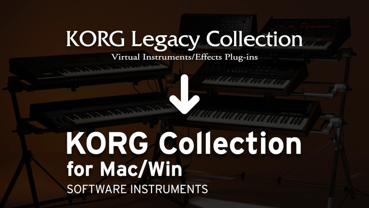 How do I migrate my KORG Legacy Collection plugins from
