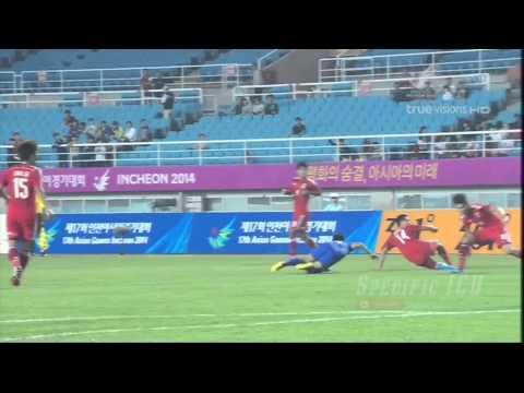 ช็อตเด็ด 15 ประตูสุดสวย ทีมชาติไทยในเอเชียนเกมส์ ครั้งที่ 17