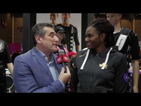MURIEL HURTIS : WIEMS PRO - Salon Body Fitness Paris 2019