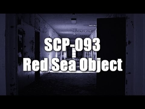 SCP-093 Red Sea Object  | Euclid class | portal / extradimensional / artifact / stone scp