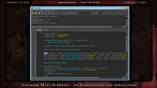 Autodesk Maya Scripting - An Introduction and Application