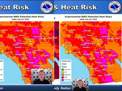 NWS San Diego Briefing - July 19, 2018