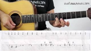 como tocar Tengo Tu love SOLO DE GUITARRA tutorial aprende a tocar cover