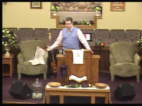 Bro. Jordan Foster: Sermon On The Mount, Matthew 6:25-34