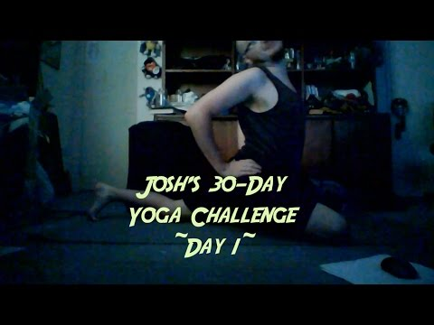 30 Day Yoga Challenge ~ Day 1 ~