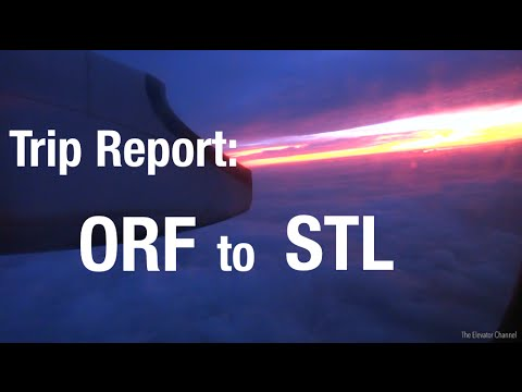 TRIP REPORT - United Airlines (Q400, ERJ-145), Norfolk to St. Louis