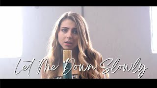 Let Me Down Slowly by Alec Benjamin | cover by Jada Facer & Alex Goot