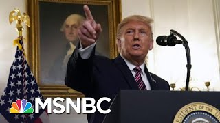 Trump Shouts Political 'Hit Job' Despite Woodward's Taped Interviews | The 11th Hour | MSNBC