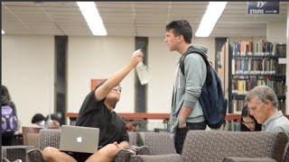 """Asking People to """"Spray Me""""    UC Irvine Finals Week Edition"""