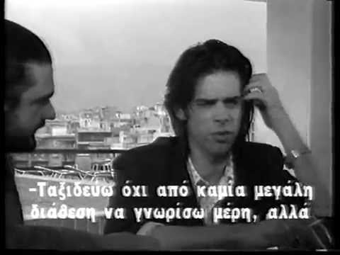 Interview with Nick Cave ET1, 1989