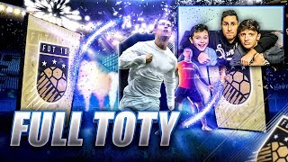 MON 2 EME TOTY ENTRE FRÈRES !!! FIFA 18 PACK OPENING TOTY
