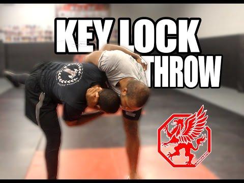 Wrestling - Key Lock Throw
