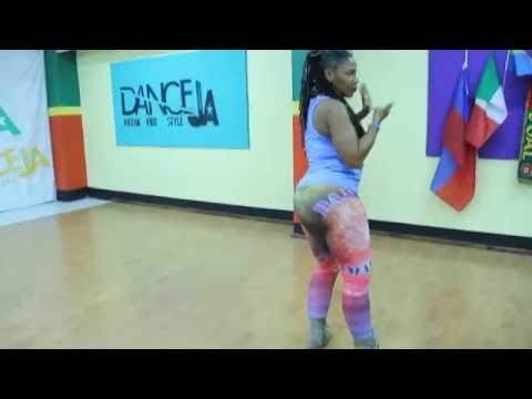 """Come Yah"" by STACIA FYA | Confidence Dancehall | [Dance Skool]"