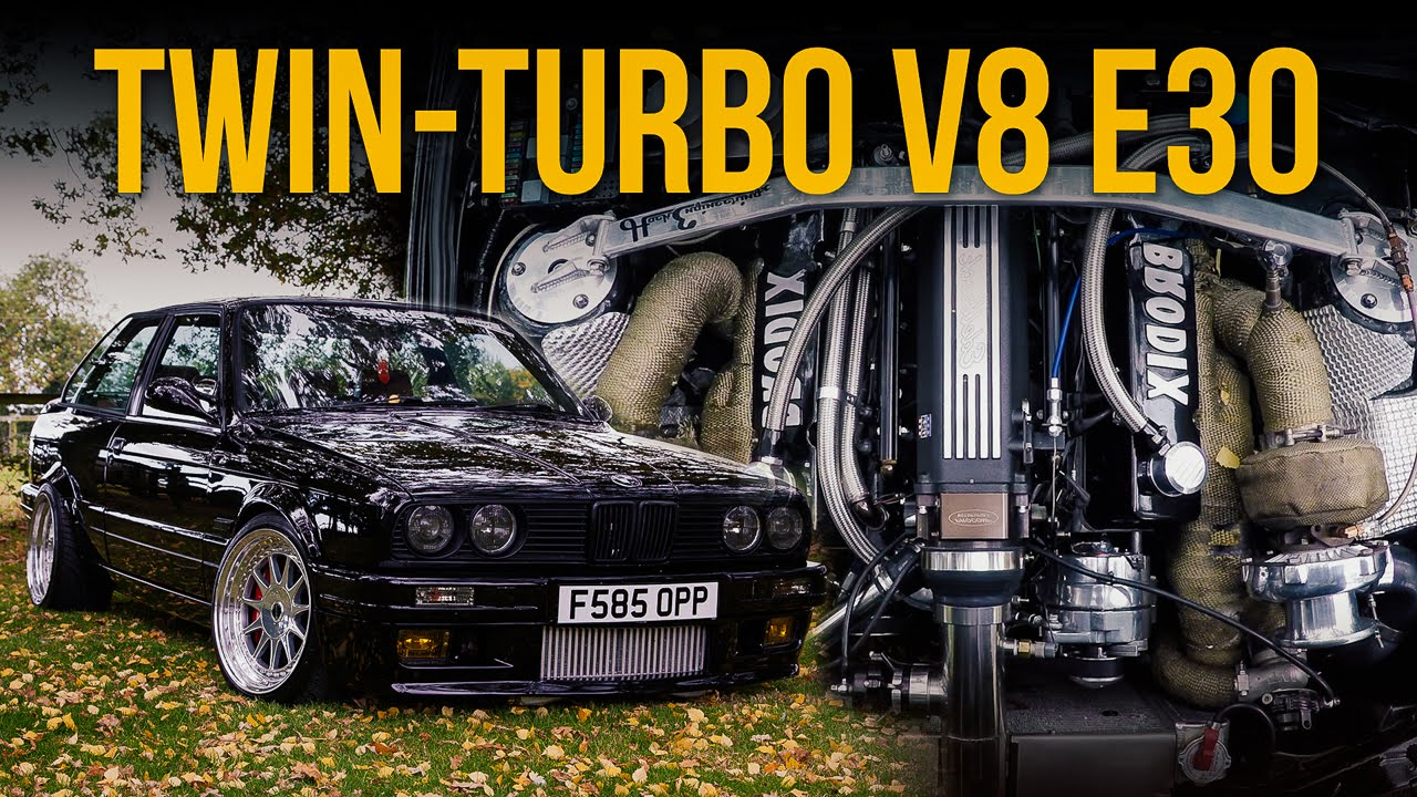 800hp Bmw E30 V8 Review My Perfect Widow Maker Youtube