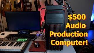 Building a $500 Audio Production Computer