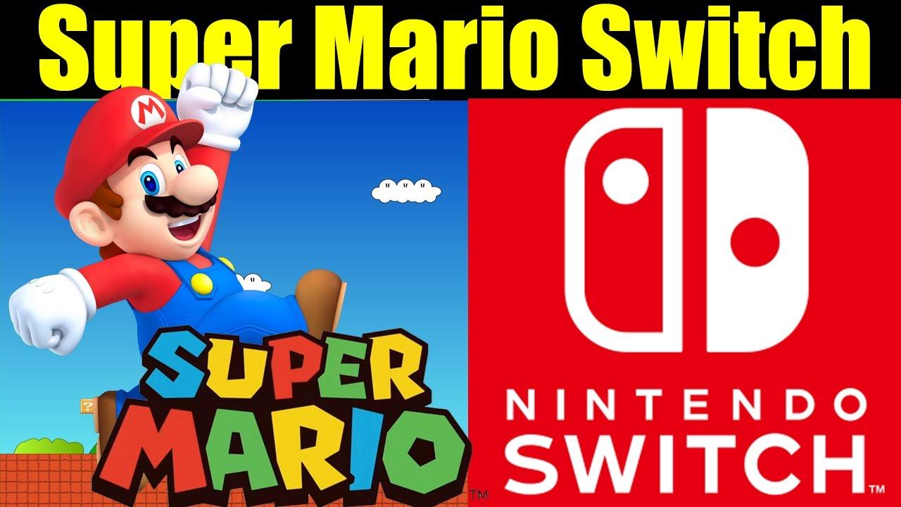 Super mario nintendo nx switch reveal gameplay for Housse nintendo switch mario