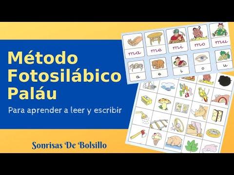 Método Fotosilábico Paláu - Para Aprender A Leer Y Escribir