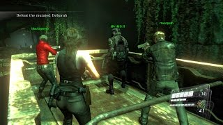 Resident Evil 6 - Helena 2-7 - Altar Corridor - *4-players* co-op with Tim, Nana and Nam
