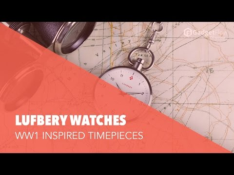 Lufbery WWI Inspired Pocket Watches - #GadgetFlow Showcase