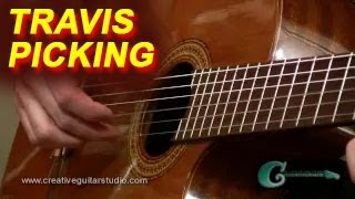 Guitar Lesson: Travis Picking