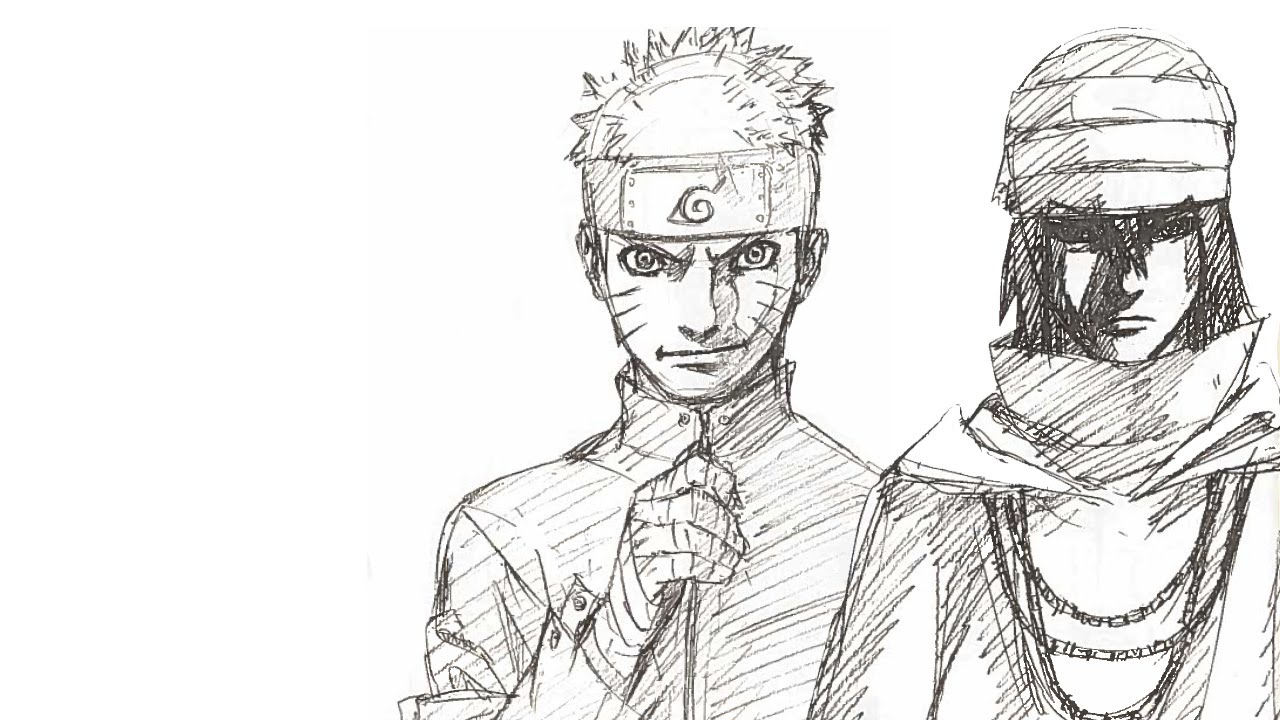 Line Art Naruto Character Wiring Diagrams Fa401 Electronic Light Activate Switch On Circuit Board Kit The Last Original Characters Sketch Rh Youtube Com Daidera Tobi And Cute