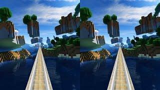 Minecraft Acid Interstate V3 - 3D Cross-Eye Edition