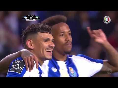 Goal | Golo Éder Militão: FC Porto (2)-0 Marítimo (Liga 18/19 #26)