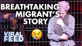 A BREATHTAKING Dance Audition Of A Migrants Journey | VIRAL FEED