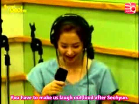 Seohyun Funny Radio Interview Engl subs SNSD Girls Generation