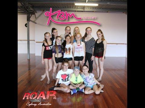 """Online Dance Class"" with Roar Talent Australia"