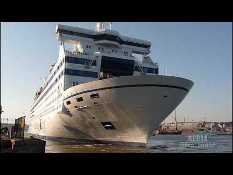 Princess Maria - Departure from Helsinki