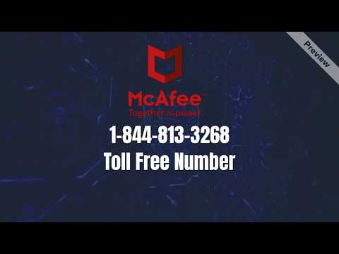 Why McAfee Update Not Installing | Call : 1-844-813-3268