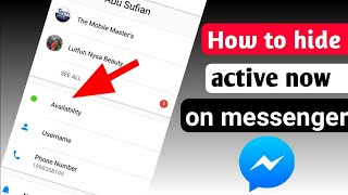 How To Hide FaceBook Massager Online active seen Easy Trick Android Hindi 2019 Trick