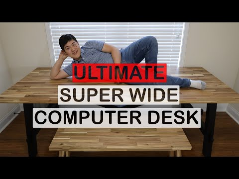 The Ultimate Computer Desk from IKEA - Skogsta Review