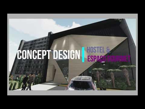 Projeto Concept Hostel