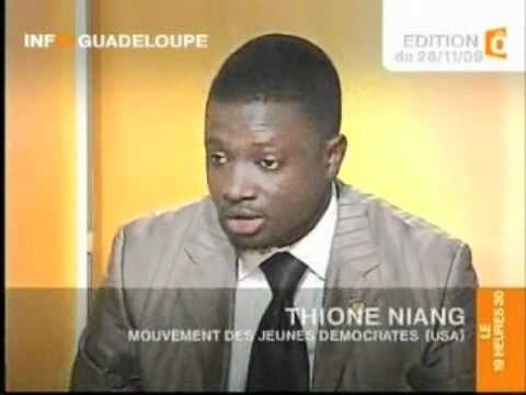 Thione Niang - TV Show in Guadeloupe