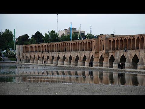 Iran - Isfahan bridges over Zayande River