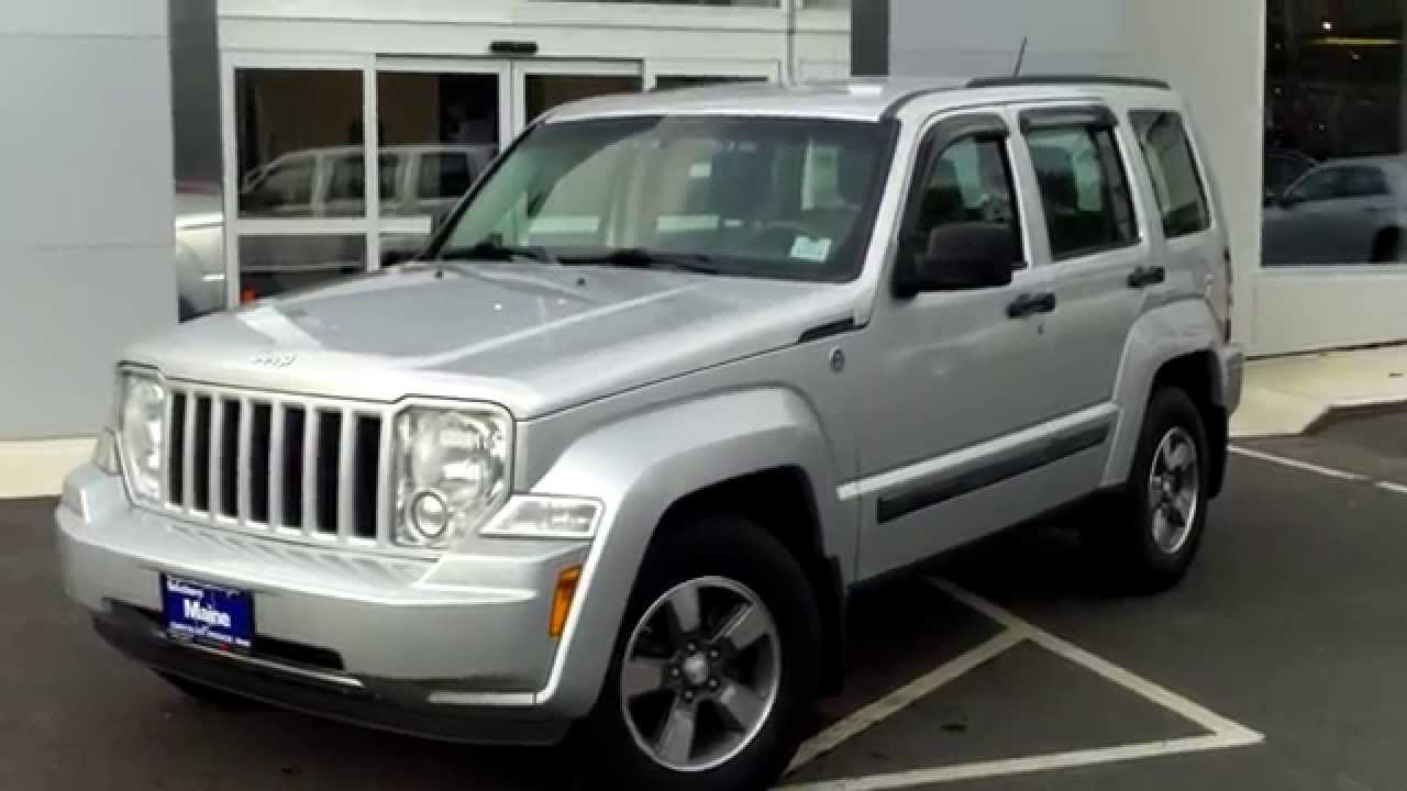 used 2008 jeep liberty 4x4 suv best price saco maine. Black Bedroom Furniture Sets. Home Design Ideas